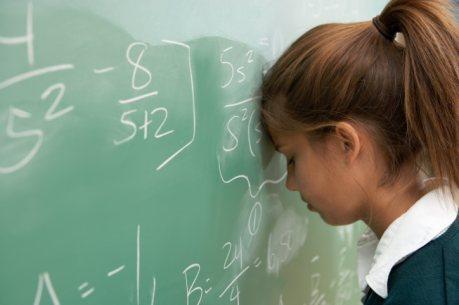 Frustrated Girl Learner